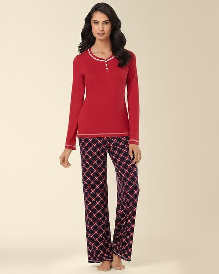 Pajama Set Dwelling Blackberry