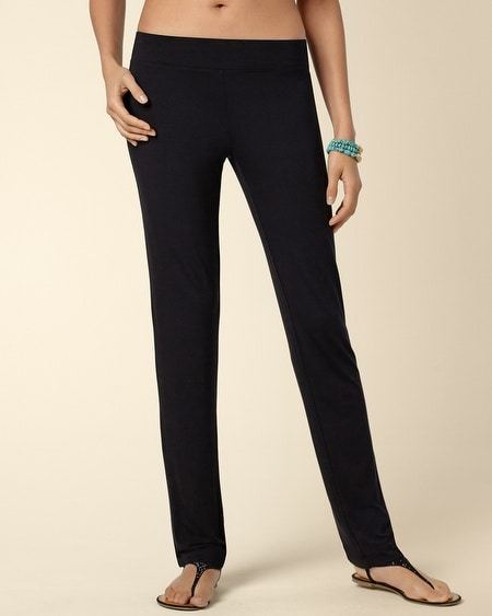 Short Inseam Narrow Leg Pant