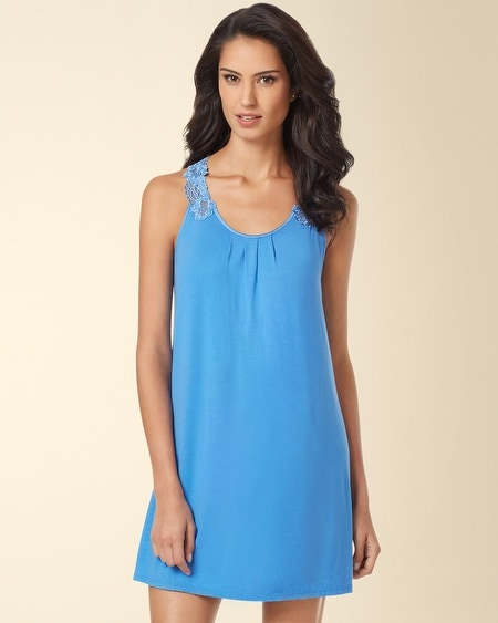 Moonlit Garden Sleep Chemise Provence Blue