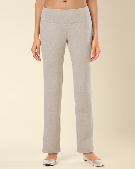 Fleece Pant Heather Toast