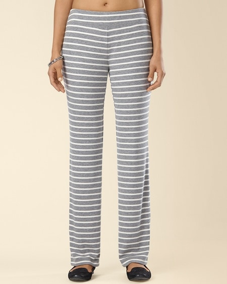 Ribbed Jersey Pant