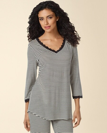 Sleep Top Topsy Stripe