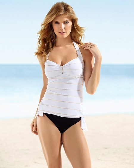 Captiva Overseas Halter Swim Tankini Top