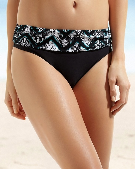 Be Creative Underwater Skin Semi High Waist Swim Brief