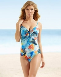 Captiva Summer Molded Cup One Piece Swimsuit