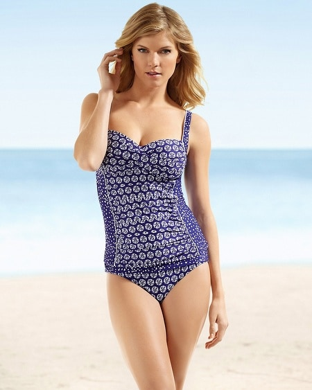 La Blanca Sweetheart Swim Tankini Top