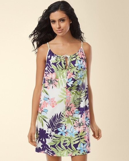 Island Life Sleep Chemise Tropical Paradise