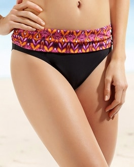 Be Creative Bohemian Semi High Waist Swim Brief