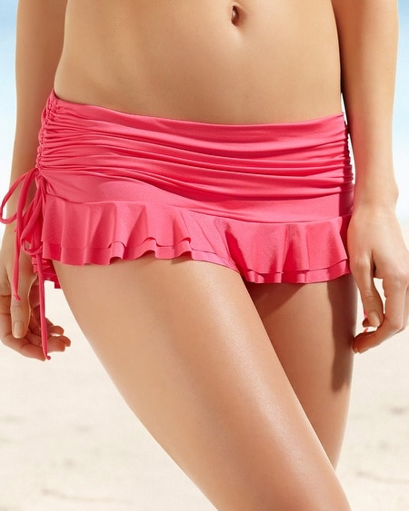 Be Creative Mademoiselle Shirred Skirted Swim Brief
