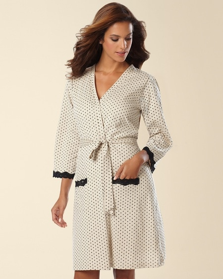 Belabumbum Cotton Nursing Short Robe