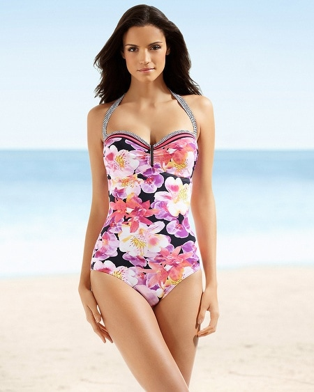 Be Creative Exotic Mania C/D Cup One Piece Swimsuit