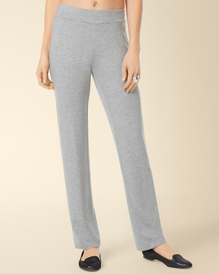 Divine Terry Ankle Pant Heather Silver