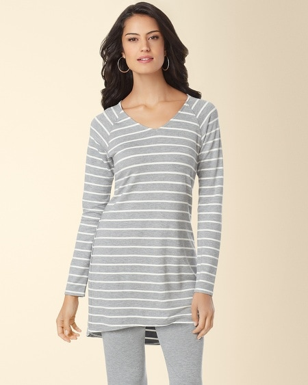 Divine Terry Raglan Sleeve Tunic