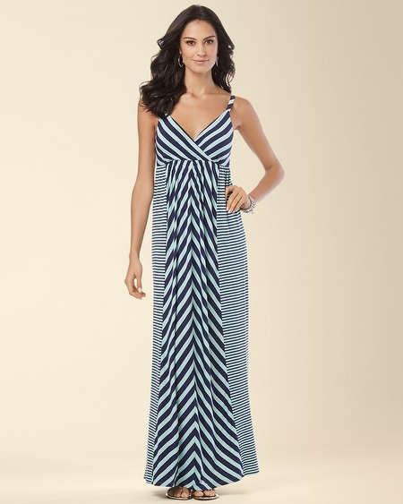 Seamed Tank Maxi Dress