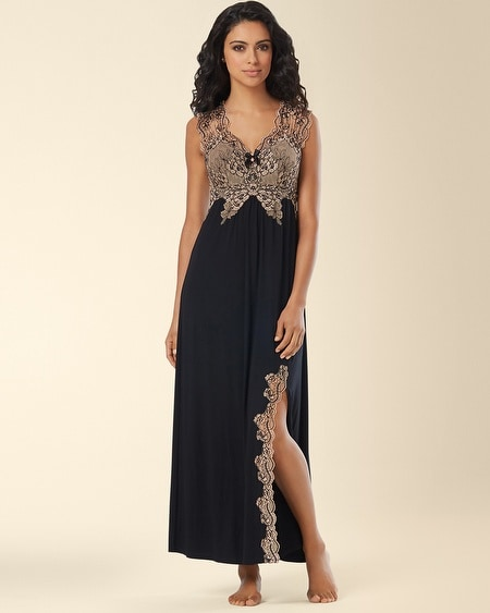 Scalloped Lace Nightgown