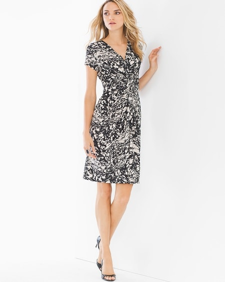 Catherine Short Dress Marble