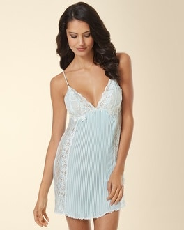 Jonquil Pleated Sleep Chemise