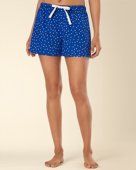 Woven Drawstring Sleep Short Connect The Dot Atlantis