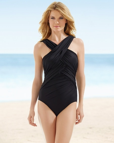 Miraclesuit Crisscross One Piece Swimsuit