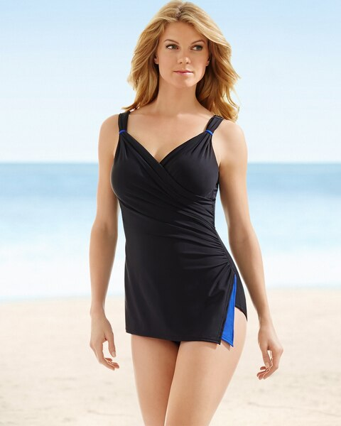 fc3369d253b60 Miraclesuit Paramore One Piece Swimsuit Black - Soma