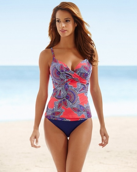 Captiva Push Up Swim Tankini Top