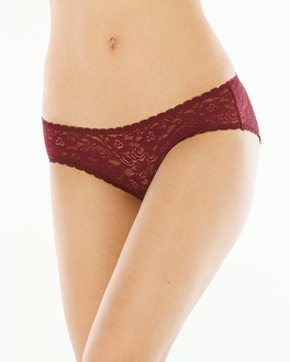 Enticing Allover Lace Hipster