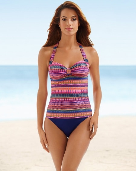 Halter Swim Tankini Top