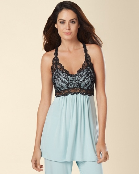 Eternal Lace Sleep Cami Ether Blue