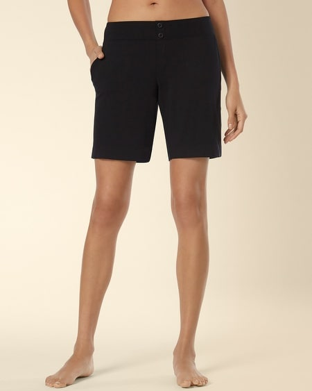 Pajama Bermuda Short Black