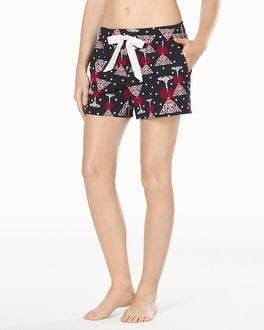Embraceable Sleep Shorts Soiree Black