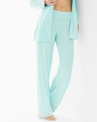 Limited Edition Intrigue Pajama Pant Eggshell Blue/Light Nude