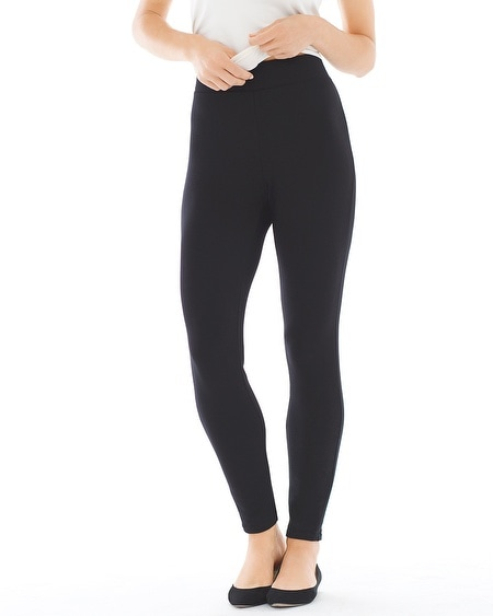 Fleece Leggings Black
