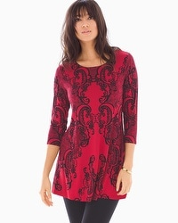 3/4 Sleeve Swing Tunic