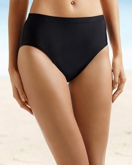 Christina High Waist Swim Brief Sizes: 1X-3X