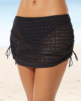 Freya Spirit Adjustable Swim Skirt Black