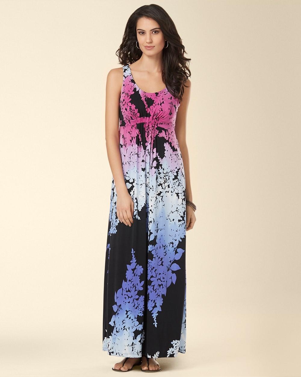 Empire cut maxi dress