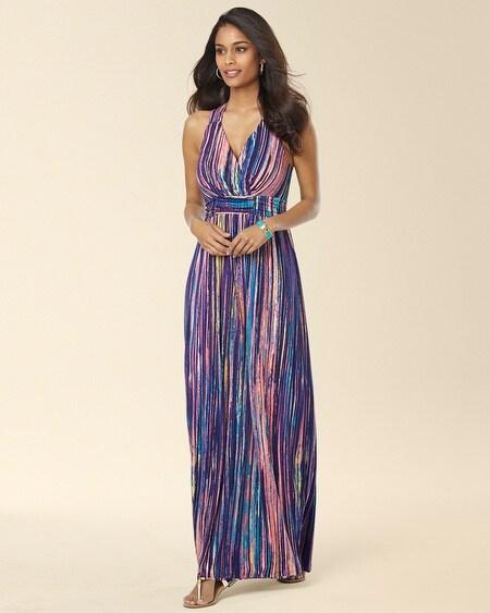 Crossback Empire Waist Maxi Dress - Soma