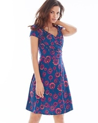 Leota Sweetheart Short Dress Fireworks