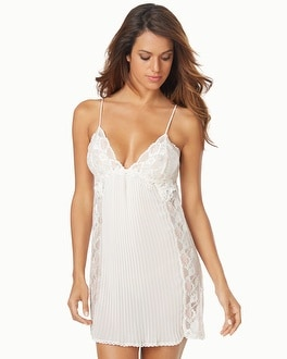 Jonquil Tessa Chiffon and Lace Sleep Chemise