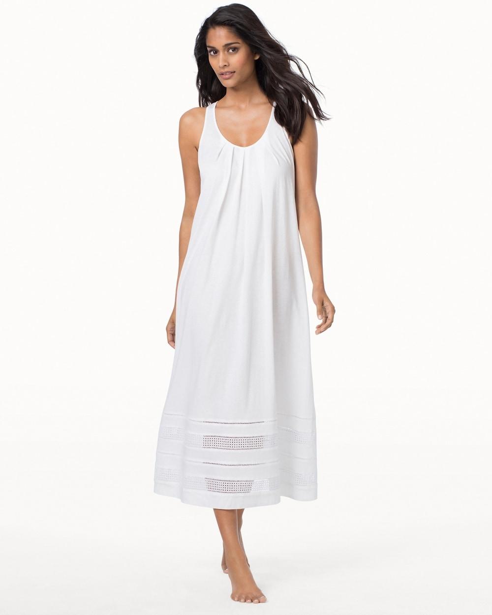Luxe Spa Pima Cotton Nightgown - Soma