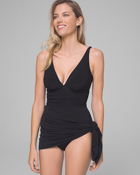 a8c0e88431f Return to thumbnail image selection Convertible Mio One Piece Swim Dress  video preview image, click to start video