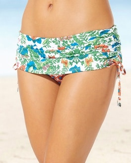 Tommy Bahama Adjustable Swim Skirt Bottom Multi