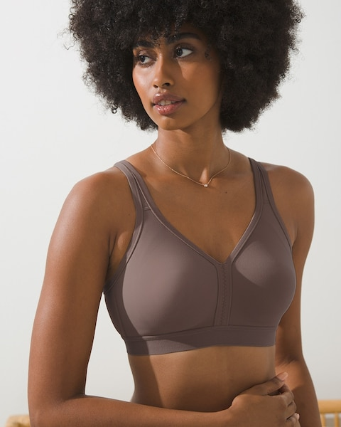 7137fca28f Return to thumbnail image selection Full Coverage Wireless Unlined Bra  video preview image