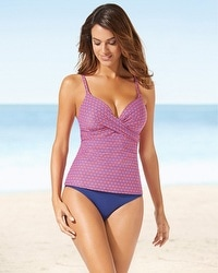 Captiva Sanibel Wave Tankini Swim Top