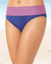 Captiva Convertible Foldover Hipster Swim Bottom