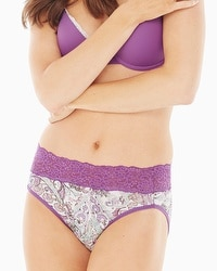 Embraceable Super Soft High Leg Brief