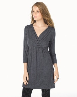 Live. Lounge. Wear. Shirred Bodice 3/4 Sleeve Tunic