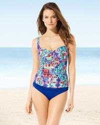 La Blanca Barbados Sweetheart Tankini Top