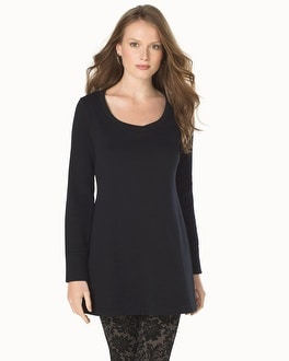 Live. Lounge. Wear. Fleece Brushed Back Tunic