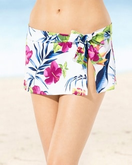 Tommy Bahama Side Tie Swim Skirt Bottom